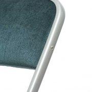 NEW DESIGN, chaise pliante en velours