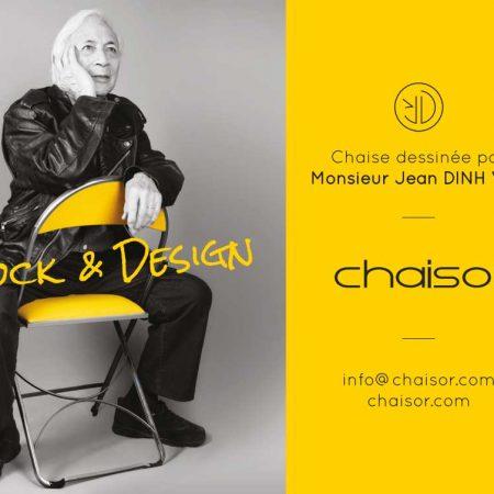 Affiche chaisor et Jean Dinh Van