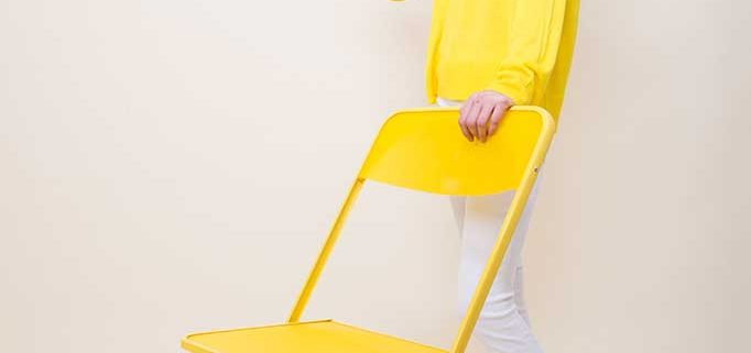 chaisy aqua jaune