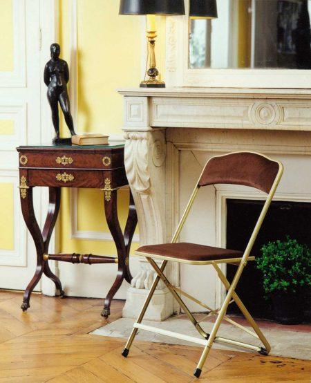 Chaisor style, la chaise pliante française