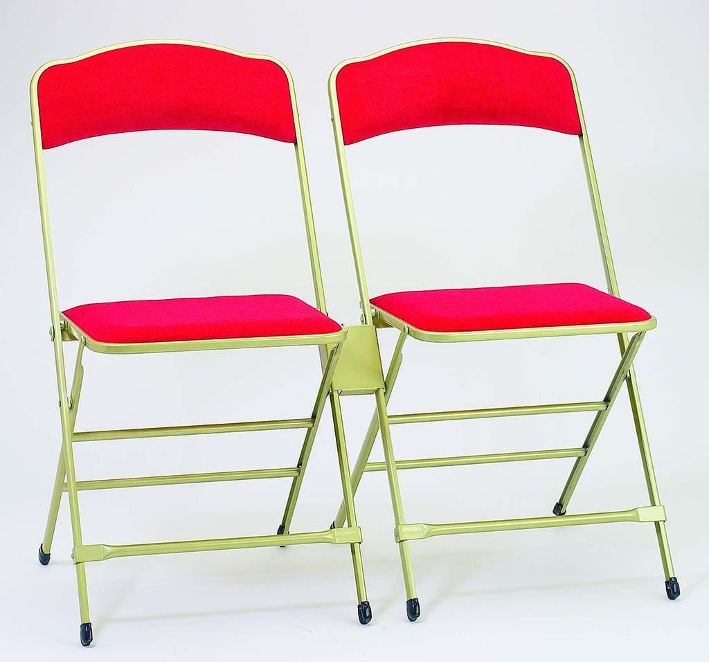 element de liaison chaises pliantes