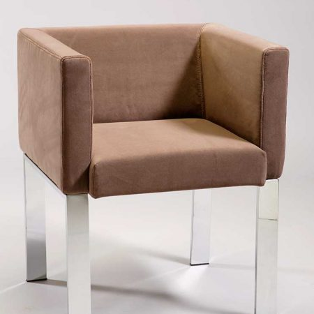 Zoom fauteuil cube