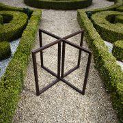 Pieds table de jardin Apple