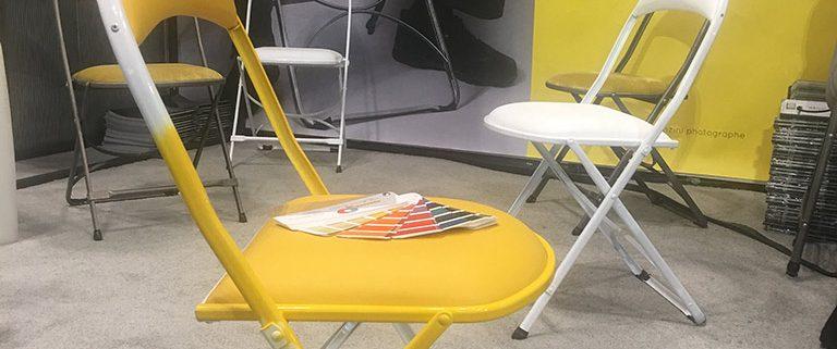 design chaise pliable Jean DINH VAN